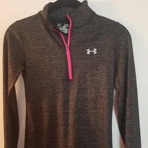 Under Armour gray lightweight pullover